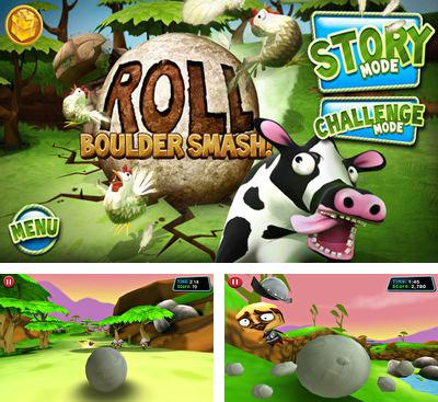 In addition to the game Men's Room Mayhem for Android phones and tablets, you can also download Roll: Boulder Smash! for free.