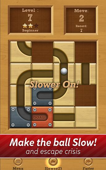 Roll the ball: Slide puzzle screenshot 2