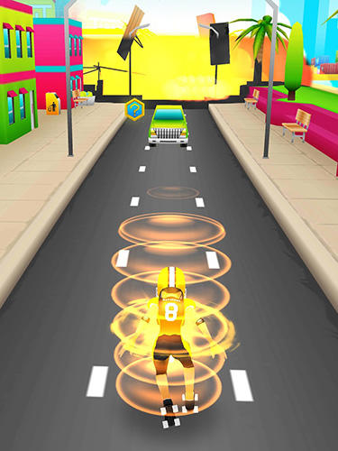 Screenshots von Roller crash: Endless runner für Android-Tablet, Smartphone.