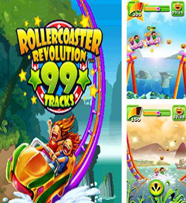 In addition to the game Nutty Fluffies Rollercoaster for Android phones and tablets, you can also download Rollercoaster Revolution 99 Tracks for free.