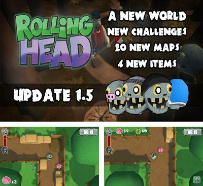 In addition to the game Shoot'n'Scroll 3D for Android phones and tablets, you can also download Rolling Head for free.