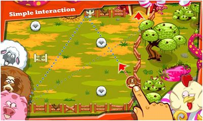 Screenshots of the Rolling Ranch for Android tablet, phone.