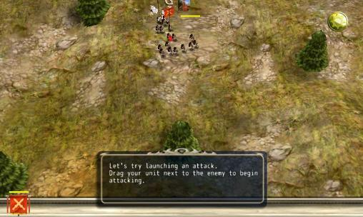 Roman war: World wide war screenshot 3