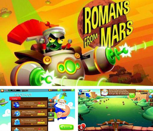 In addition to the game Viking saga for Android phones and tablets, you can also download Romans from Mars for free.