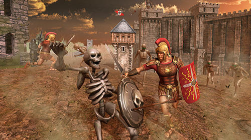 Screenshots von Romans vs mummies: Ultimate epic battle für Android-Tablet, Smartphone.