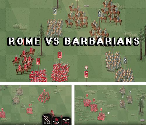 Rome vs barbarians: Strategy