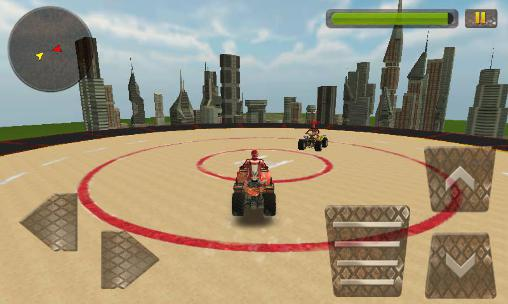 Kostenloses Android-Game Rooftop Demolition Derby 3D. Vollversion der Android-apk-App Hirschjäger: Die Rooftop demolition derby 3D für Tablets und Telefone.