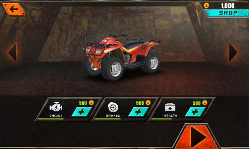 Screenshots of the Mad driver for Android tablet, phone.