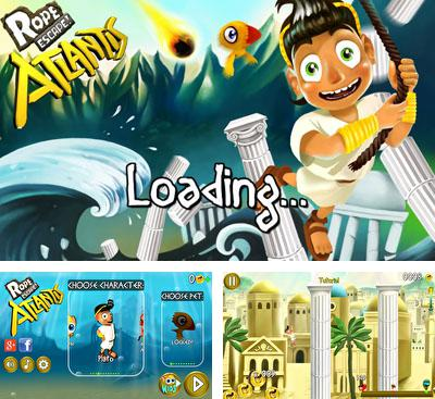 In addition to the game Walkabout Journeys for Android phones and tablets, you can also download Rope Escape Atlantis for free.