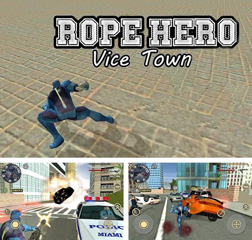 rope hero vice town uptodown