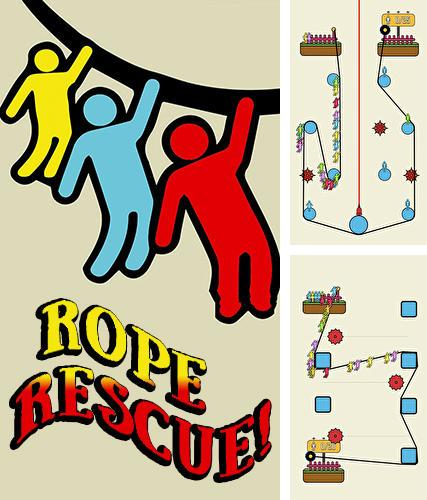 Rope rescue: Unique puzzle