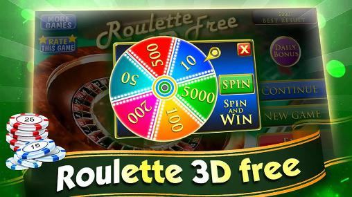 Screenshots do Roulette 3D free - Perigoso para tablet e celular Android.