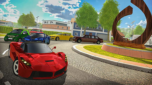 Roundabout 2: A real city driving parking sim screenshot 1
