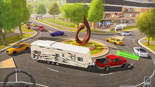 Roundabout 2: A real city driving parking sim screenshot 2