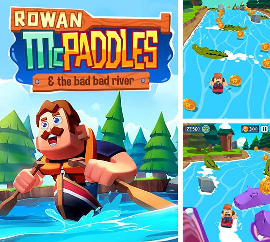 In addition to the game Up 9: Hexa puzzle! Merge numbers to get 9 for Android phones and tablets, you can also download Rowan McPaddles for free.