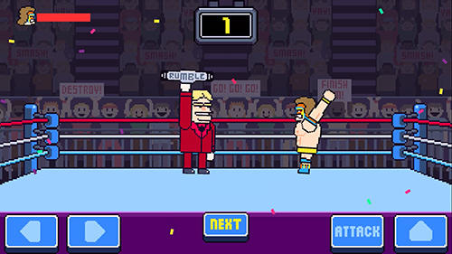 Screenshots von Rowdy wrestling für Android-Tablet, Smartphone.