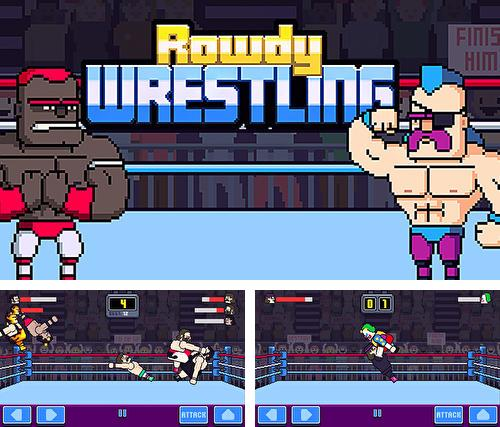 In addition to the game Gods vs humans for Android phones and tablets, you can also download Rowdy wrestling for free.