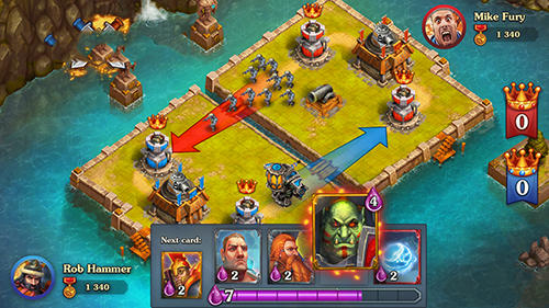 Players Can Use Spells and Abilities to Defeat Opponents
