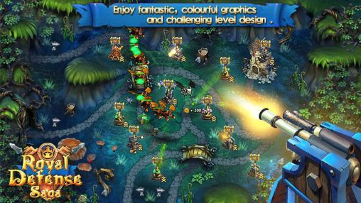Download Royal defense saga Android free game.