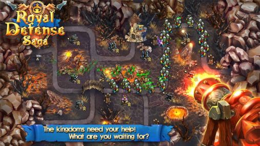 Get full version of Android apk app Royal defense saga for tablet and phone.