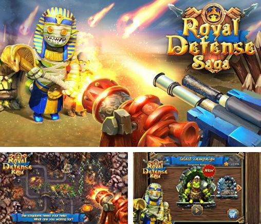 In addition to the game Solipskier for Android phones and tablets, you can also download Royal defense saga for free.