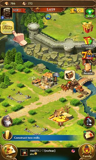 Screenshots von Royal empire: Realm of war für Android-Tablet, Smartphone.
