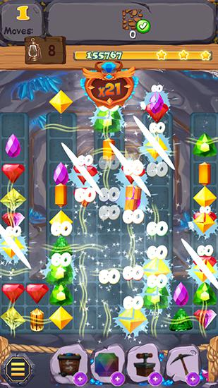 Royal gem rescue: Match 3 screenshot 4