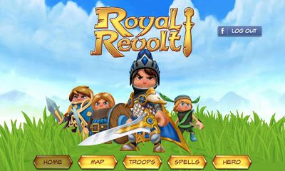 Download Royal Revolt! Android free game.