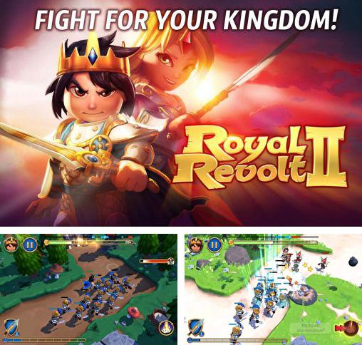 In addition to the game Royal Revolt! for Android phones and tablets, you can also download Royal revolt 2 for free.