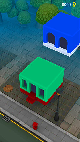 Alien bricks: A logical puzzle and arcade game screenshot 1