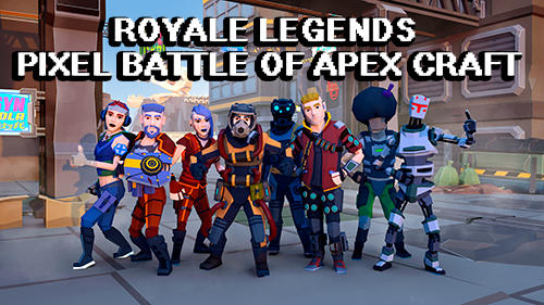 Royale legends: Pixel battle of apex craft poster