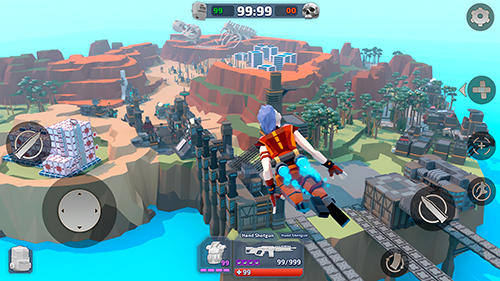 Screenshots von Royale legends: Pixel battle of apex craft für Android-Tablet, Smartphone.