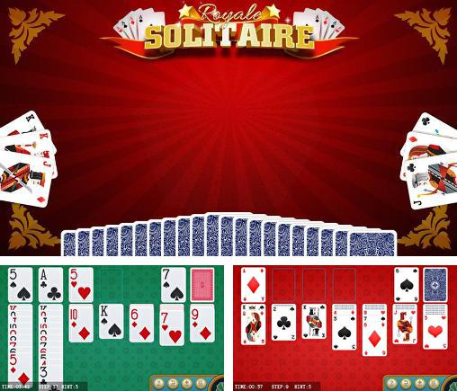In addition to the game Solitaire Double-Deck HD for Android phones and tablets, you can also download Royale solitaire for free.