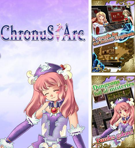 In addition to the game Alphadia for Android phones and tablets, you can also download RPG Chronus Arc for free.