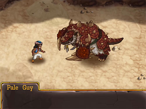 Screenshots von RPG Djinn caster für Android-Tablet, Smartphone.
