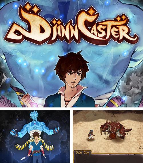 In addition to the game Digimon links for Android phones and tablets, you can also download RPG Djinn caster for free.