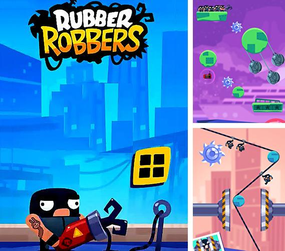 Rubber robbers: Rope escape