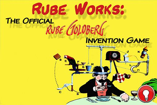 Rube works: Rube Goldberg invention game