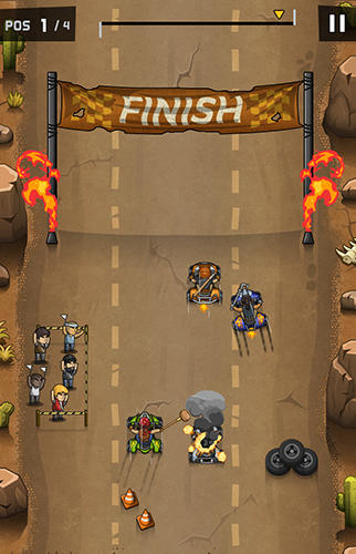 Rude racers screenshot 2