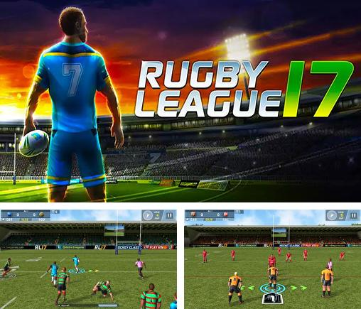 In addition to the game Rugby nations 13 for Android phones and tablets, you can also download Rugby league 17 for free.