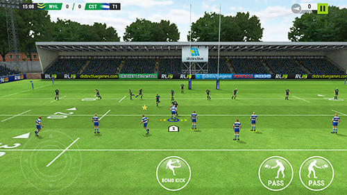 Screenshots von Rugby league 19 für Android-Tablet, Smartphone.