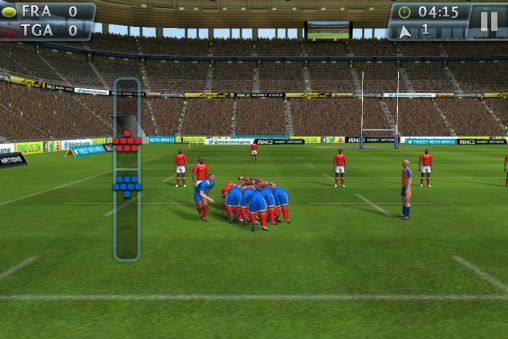 Screenshots of the Rugby nations 13 for Android tablet, phone.