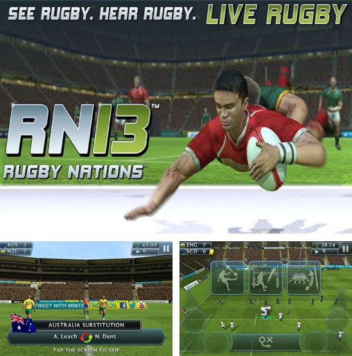 In addition to the game Rugby Nations 2011 for Android phones and tablets, you can also download Rugby nations 13 for free.