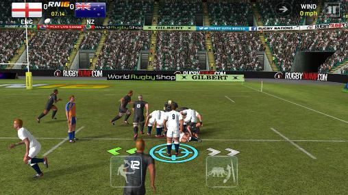 Rugby nations 16 screenshot 1