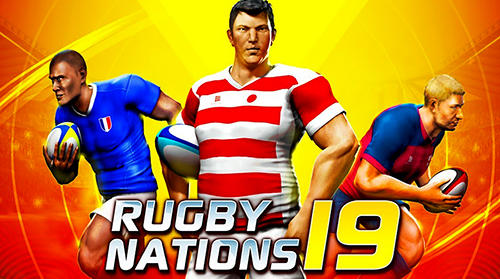 Rugby nations 19 poster