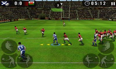 Download Rugby Nations 2011 Android free game.