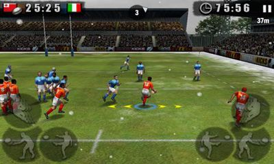 Rugby Nations 2011 screenshot 2