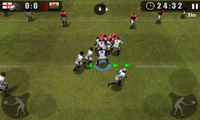 Screenshots of the Rugby Nations 2011 for Android tablet, phone.