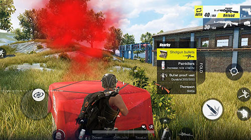 Screenshots von Rules of survival für Android-Tablet, Smartphone.