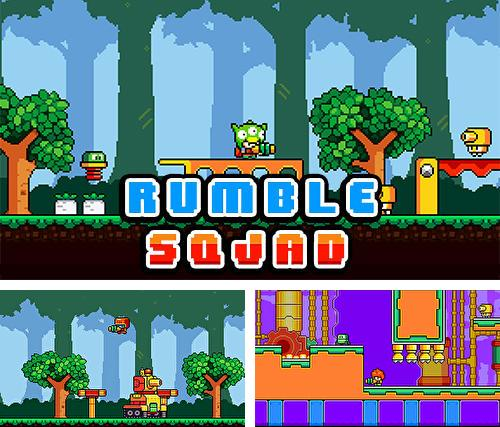 Rumble squad: Pixel game